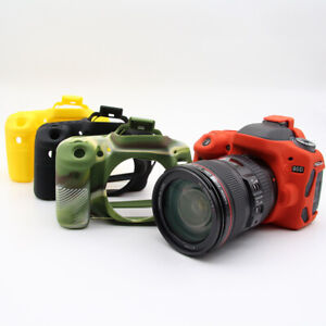 Camera Silicone Skin Case Cover For Canon EOS 5D 6D 800D 650D 1300D/1500D 850D