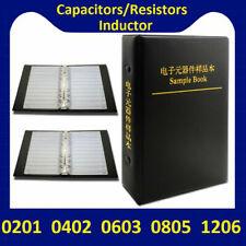 0201 0402 0603 0805 1206 Smd Resistor Capacitor Inductor Samples Book Assort Kit