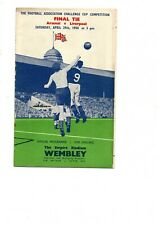 More details for arsenal v liverpool 1950  fa cup final at wembley