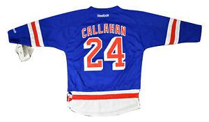 Reebok NHL New York Rangers Ryan Callahan Little Kids Replica Jersey NWT 4-7