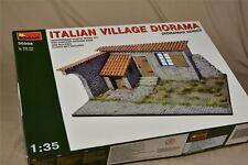 New Miniart 1/35 diorama Italian Village 36008 - already discontinued
