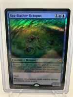 Magic The Gathering - Sea-Dasher Octopus - Ikoria - FOIL - NM/M - MTG