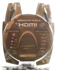 Monster Cable UltraHD Gold 35ft HDMI Cable Discontinued My Manufacturer