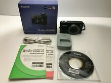 Canon PowerShot SX260 HS 12.1MP Digital Camera - Black (SX260HS)