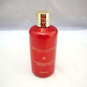 Baylis & Harding MIDNIGHT FIG & POMEGRANATE Luxury Shower Creme 10.1 oz NEW NWOB