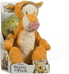 New Official Disney Classic Winnie The Pooh 25cm Tigger Soft Plush Toy, Bargain