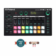 Roland MC-101 Groovebox w/ Free Wireless Earbuds - Stereo Bluetooth In-ear New