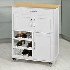 SoBuy® Kitchen Serving Trolley Cart, Kitchen Storage Cabinet,FKW45-WN, UK