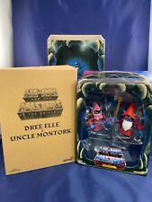 Mattel Dree Elle & Uncle Montork He-Man Masters of the Universe Classics Super7