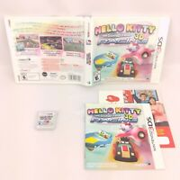 Nintendo 3DS Hello Kitty and Sanrio Friends 3D Racing - Complete