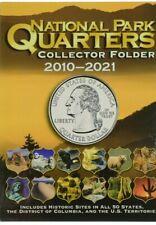 Whitman Coin Folder National Park Quarter (4 Color) 2010 - 2021