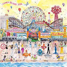 Mudpuppy Michael Storrings Summer at the Amusement Park 500 Pieces Puzzle