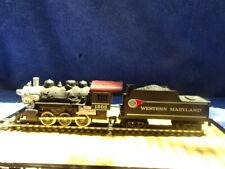 Vintage Tyco HO Scale Western Maryland Steam Locomotive #1203 & Tender