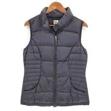 32 Degrees Heat Puffer Zip Up Vest Womens Size Medium Black Quilted Lightweight