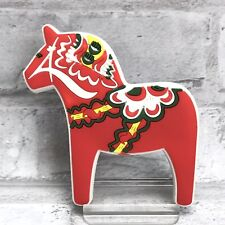 Swedish Red Dala Horse Dalahäst Kitchen Refrigerator Fridge Magnet  Sweden