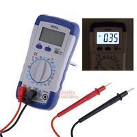 LCD Digital Multimeter AC DC Voltmeter Ammeter Ohmmeter Ohm Volt Meter Tester