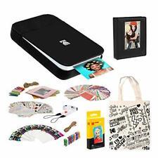 KODAK Smile Instant Digital Printer (Black/White) Photo Frames Kit