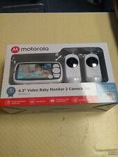 Motorola MBP483XL-2 Video Baby Monitor 2 Camera Set