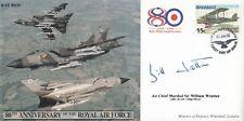 JS(CC)49c RAF 80th Anniversaries Signed William Wratten  Gulf War pilot