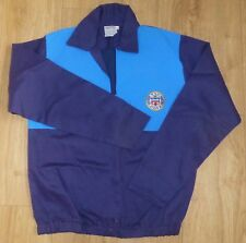 BATH RUGBY-Embroidered Classic Cotton Drill Top-NAVY/MID BLUE-NEW Size XLARGE