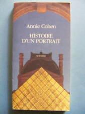 Annie Cohen Histoire d'un Portrait Editions Actes Sud 1992