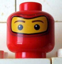 LEGO SPIDERMAN 2 - Minifig, Head Balaclava w/ Brown Eyebrows, Eyes Pattern