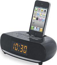 Naxa NI-3107 PLL Digital Alarm Clock Radio W/ Dock for IPod IPhone Brand New