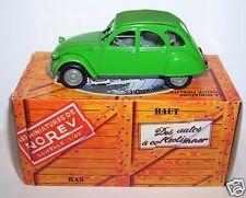 NOREV HACHETTE CITROEN 2CV 6 VERT TUILERIES 1974 1/43 IN BOX