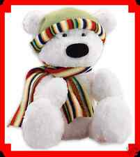 Bear Holiday Bernard The Polar Bear Soft & Cuddly 16 in