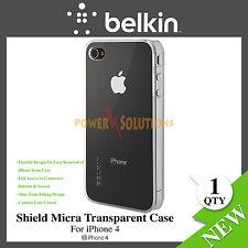 Belkin Black Transparen Shield Micra case for iPhone 4 Brand New F8Z623cw154