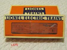 NOS LIONEL MODEL TRAINS RAILROAD DENVER & RIO GRANDE WAFFLE SIDE BOX CAR 6-15000