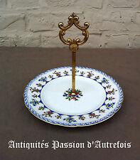 B20130475 - Plat à biscuits en porcelaine de Limoges - Très bon état