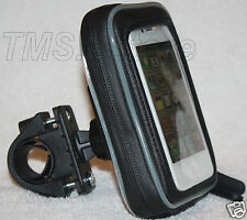 Waterproof Bike Handlebar Mount Case for Droid iPhone 3G 4 4S Casio Cammando