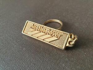 Vintage Austin Rover Metro Car Brass Keyring Key Ring