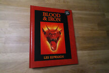 VERY RARE Les Edwards: Blood & Iron Warhammer 40k ARTBOOK Fantasy SF Hardcover