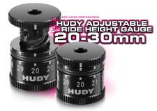 HUDY 107742 Réglable Ride Hauteur Jauge 20-30mm 1/8 & 1/10