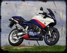 BMW R1100S Boxer Taza 2 A4 Metal Sign moto antigua añejada De