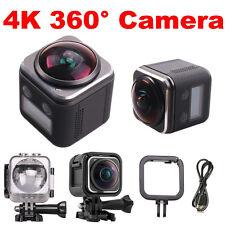 4K 360°Panoramic HD 1440P 30fps Camara Wifi Sport Driving Camera Waterproof DVR