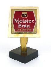 1960s Chicago Peter Hand Meister Brau Beer 4½ inch Tap Tavern Trove