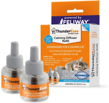 Cat Calming Pheromone Diffuser Refill Reduce Scratching Anxiety 60 Day Supply