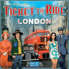 Ticket to Ride London Board Game by Days of Wonder