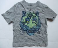 Baby Gap Grey Got a Tiger by the Tail SS Tee Shirt Top Boys 4T NEW NWT