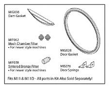 midmark m11 sterilizer autoclave PM service kit OEM MIK080 door gasket,door dam