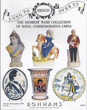 BONHAMS ROYAL COMMEMORATIVE CHINA Ward Coll Staffordshire Doulton Catalog 1990