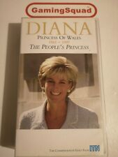 Diana Princess of Wales, The Peoples Princess VHS, Supplied by Gaming Squad