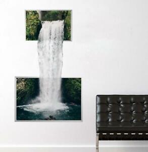 Nature In Waterfall Custom Wall Decals 3D Wall Stickers Art Elegant MA05