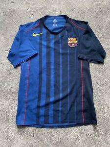 Barcelona Player Match Issue Away Shirt Jersey Camiseta 2004/05 Messi Ronaldinho