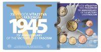 Coffret BU Slovaquie 2020 (75 ans de paix et de liberté) / victoire sur fascisme