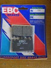 EBC  Bremsbeläge für Kawasaki  ZXR 400 Suzuki RGV 250 FA180 NEU