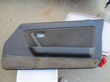 84-85 Mazda rx7 rx-7 gslse gsl-se gsl blue gray right door panel